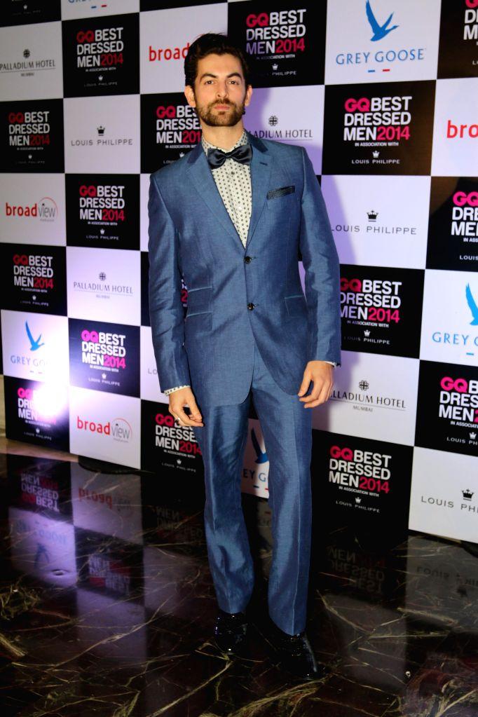 Actor Neil Nitin Mukesh during GQ Best Dressed Men 2014 awards at Palladium Hotel in Mumbai. - Neil Nitin Mukesh