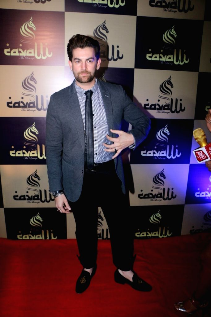 Actor Neil Nitin Mukesh during launch of  'Cavalli Lounge' in Mumbai on March 24, 2017. - Neil Nitin Mukesh