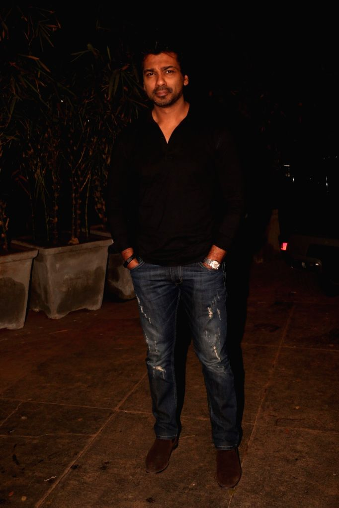 Actor Nikhil Dwivedi at actress Nora Fatehi's birthday bash in Mumbai's Bandra, on Feb 5, 2019. - Nikhil Dwivedi