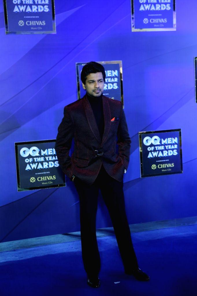 "Actor Nikhil Dwivedi at the ""GQ Men of the Year Awards 2019"" in Mumbai on Sep 28, 2019. - Nikhil Dwivedi"