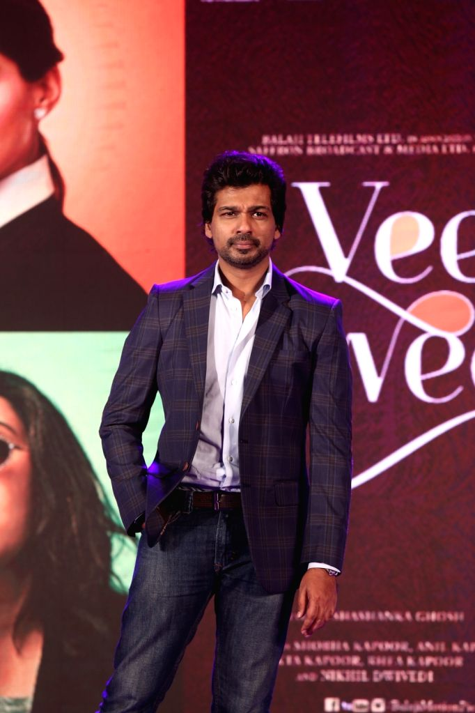 "Actor Nikhil Dwivedi at the music launch of his upcoming film ""Veere Di Wedding"" in Mumbai on May 22, 2018. - Nikhil Dwivedi"