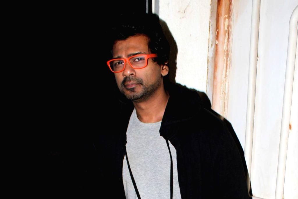 "Actor Nikhil Dwivedi at the screening of upcoming film ""Kesari"" in Mumbai, on March 31, 2019. - Nikhil Dwivedi"