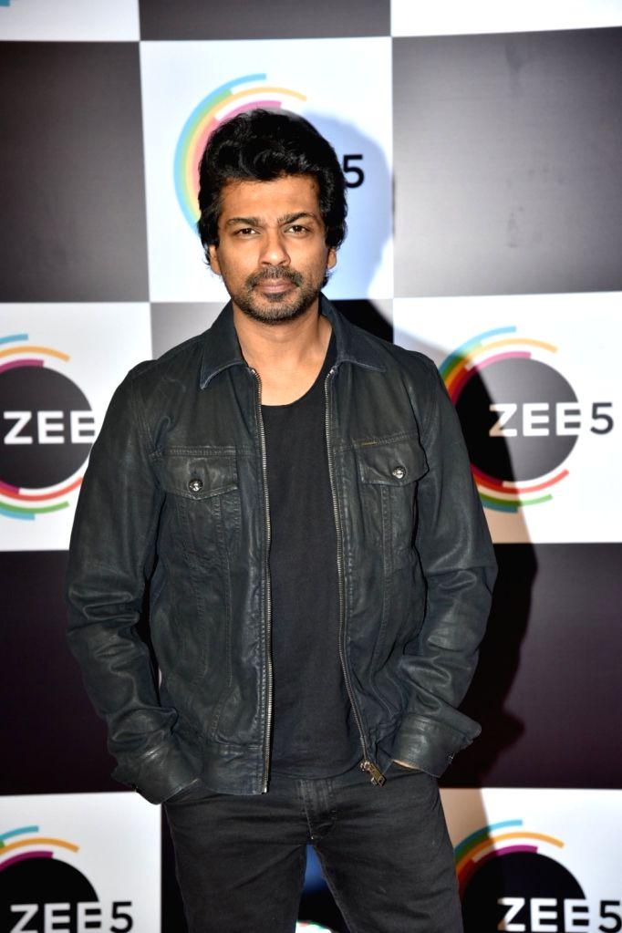 Actor Nikhil Dwivedi on the red carpet of Zee5's first anniversary celebrations in Mumbai, on Feb 14, 2019. - Nikhil Dwivedi