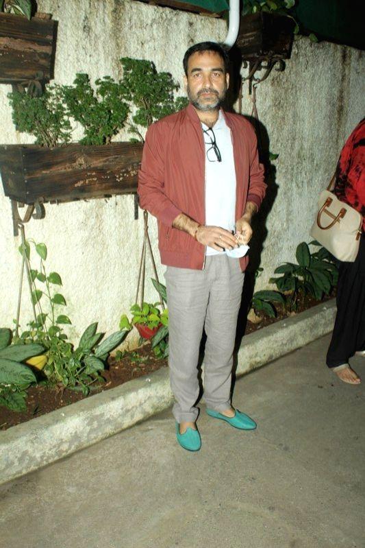 Actor Pankaj Tripathi at the special screening of his upcoming film 'Kaagaz', in Mumbai on Jan 6, 2021. - Pankaj Tripathi