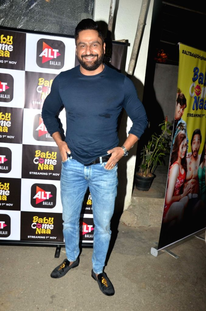 "Actor Parag Tyagi at the screening of ALT Balaji's ""Baby Come Naa"" web series in Mumbai on Oct 30, 2018. - Parag Tyagi"