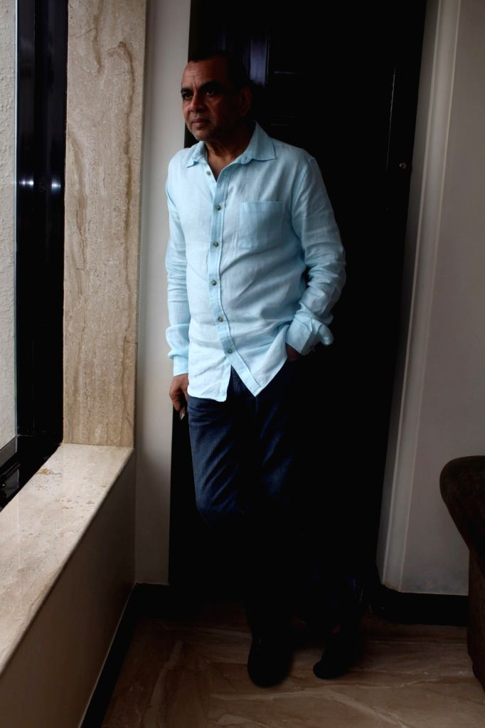 """Actor Paresh Rawal during a press conference to promote his upcoming film """"Guest Iin London"""" in Mumbai on July 1, 2017. - Paresh Rawal"""