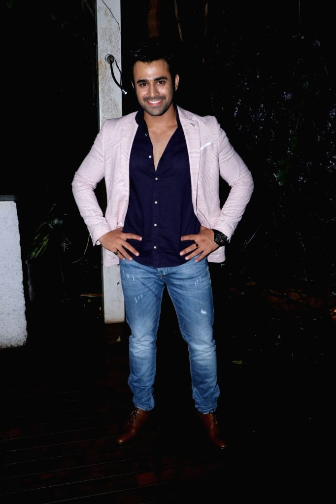 Actor Pearl V Puri during his birthday celebration in Mumbai on July 10, 2018. - Pearl V Puri