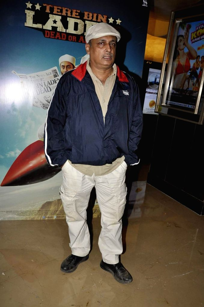 Actor Piyush Mishra during the trailer launch of film Tere Bin Laden : Dead or Alive in Mumbai on Jan. 19, 2016. - Piyush Mishra