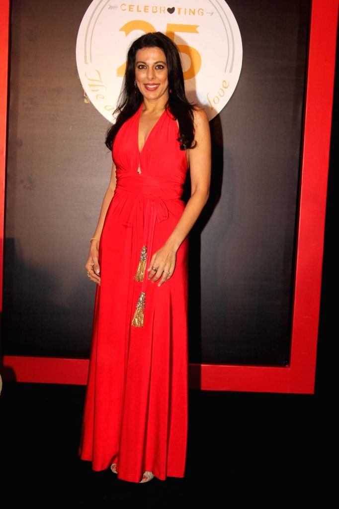 Actor Pooja Bedi during the launch of KamaSutra Honeymoon Surprise Pack, in Mumbai,  on Oct 21, 2016. - Pooja Bedi