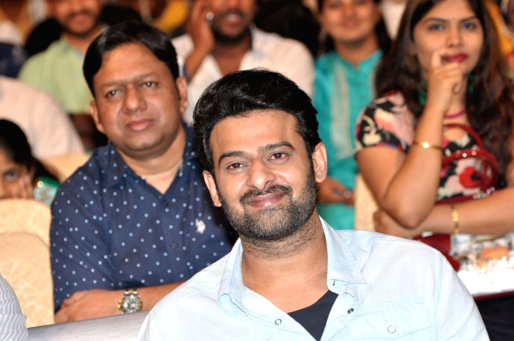 "Actor Prabhas stills from Telugu film ""Anando Brahma"" in Hyderabad. - Prabhas"