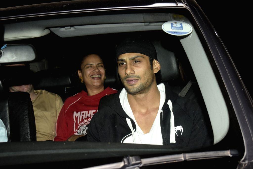 """Actor Prateik Babbar at the screening of film """"Gully Boy"""" in Mumbai, on Feb 15, 2019. - Prateik Babbar"""