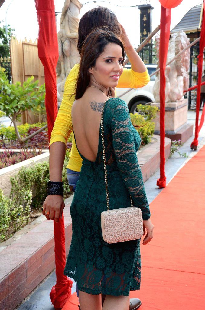 Actor Priti Sharma during the on location shooting of film Hume Toh Loot Liya in Mumbai on June 30, 2014. - Priti Sharma