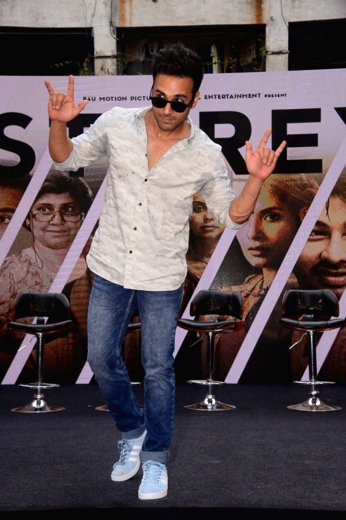 "Actor Pulkit Samrat at the trailer launch of her upcoming film ""3 Storeys"" in Mumbai on Feb 7, 2018. - Pulkit Samrat"