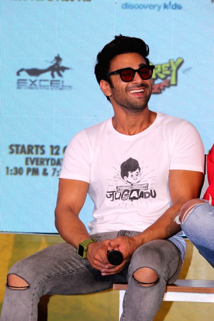 "Actor Pulkit Samrat during the launch of Television show ""Fukrey Boys"" in Mumbai on Sep 25, 2019. - Pulkit Samrat"