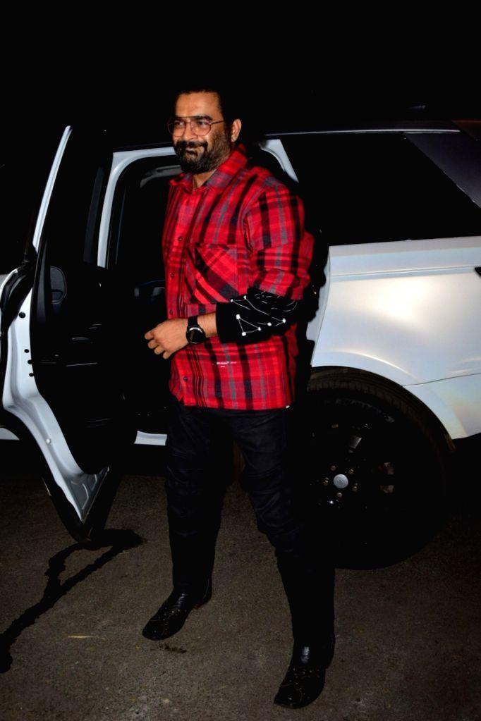 Actor R. Madhavan at filmmaker Goldie Behl's birthday bash in Mumbai on Jan 25, 2020. - R. Madhavan