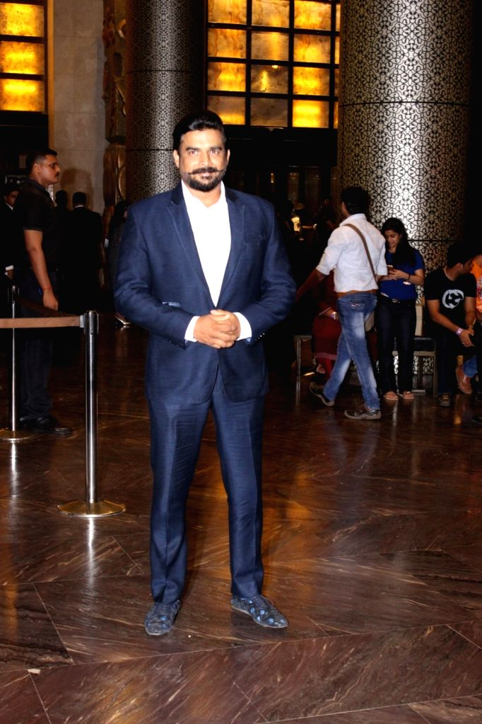 Actor R Madhavan during the wedding reception of Preity Zinta and Gene Goodenough in Mumbai, on May 13, 2016. - R Madhavan and Preity Zinta