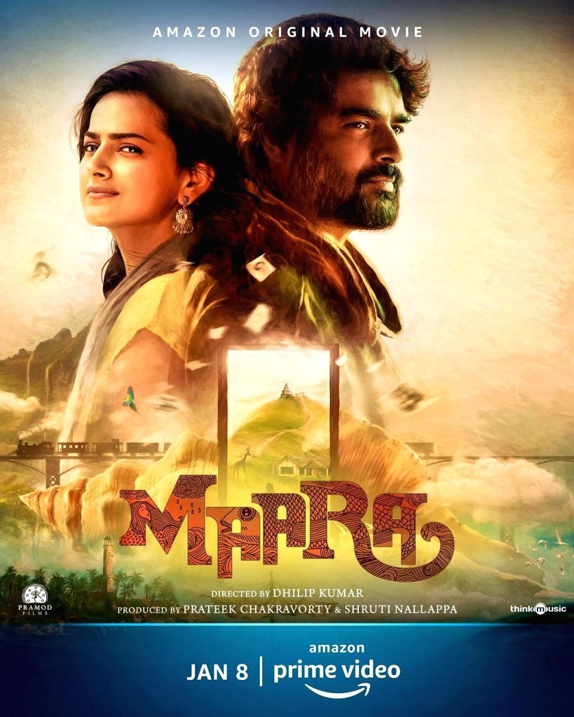Actor R. Madhavan has unveiled the trailer of his next film Maara, which is set in a picturesque world. - R. Madhavan
