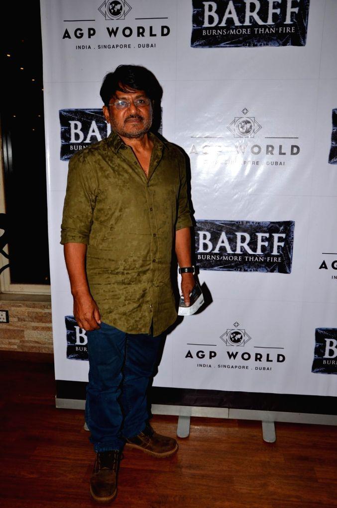 Actor Raghubir Yadav at AGP play Barff by Saurabh Shukla in Mumbai on April 17, 2016. - Raghubir Yadav