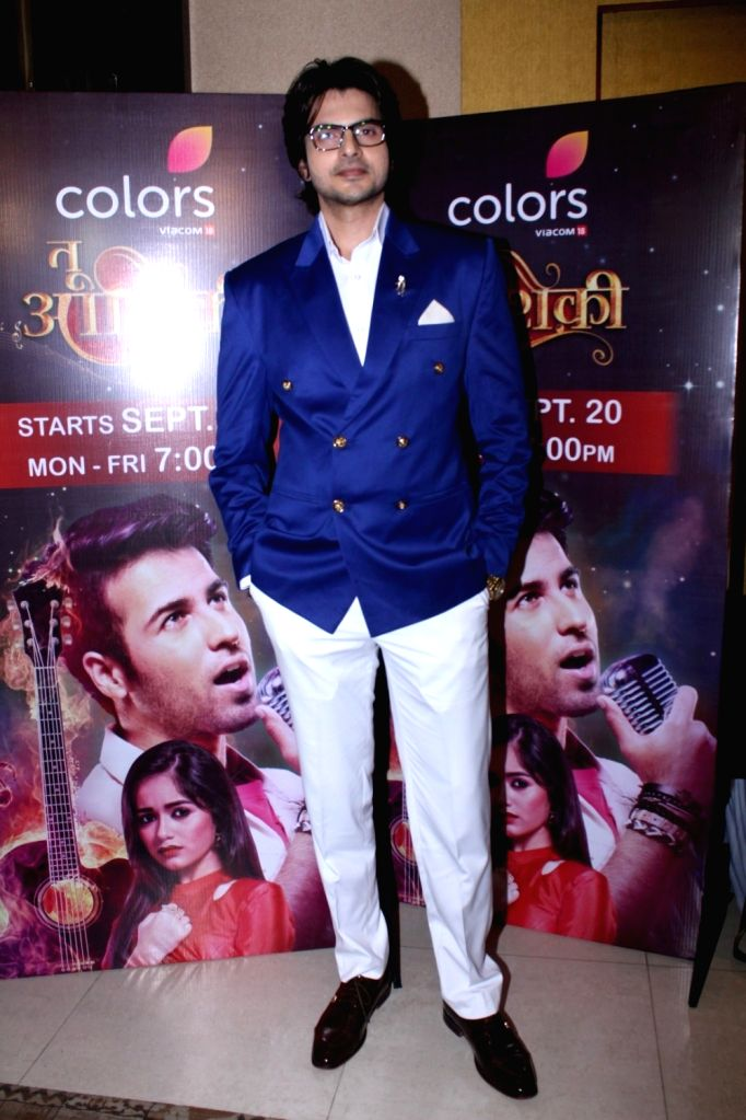 """Actor Rahil Azam during the launch of colors new TV Show """"Tu Aashiqui"""" in Mumbai on Sept 18, 2017. - Rahil Azam"""
