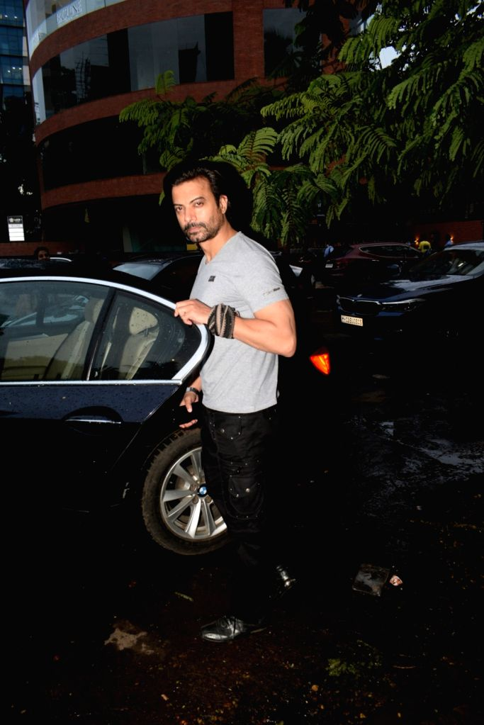 Actor Rahul Bhatt seen at Juhu, in Mumbai on June 18, 2019. - Rahul Bhatt