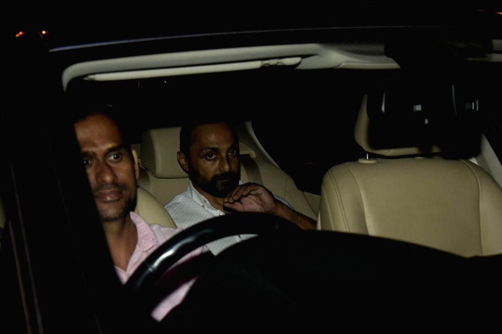 Actor Rahul Bose arrives to attend Halloween party at Karan Johar's house in Mumbai on Nov. 1, 2018. - Rahul Bose