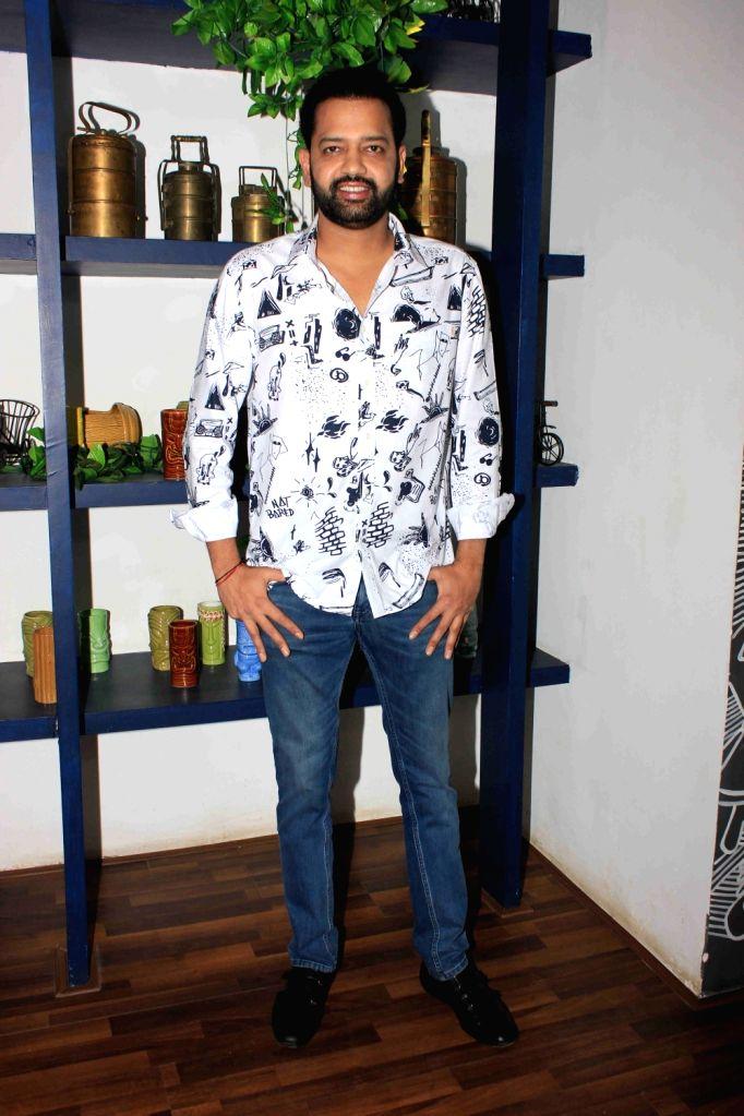 Actor Rahul Mahajan during the launch of Claudia Ciesla's book on nutrition 'Keep Eating Keep Losing' in Mumbai on June 1, 2016. - Rahul Mahajan