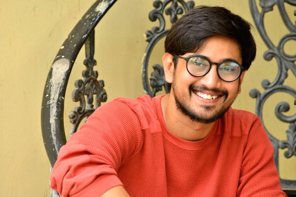 Actor Raj Tarun during a interview in Hyderabad. - Raj Tarun