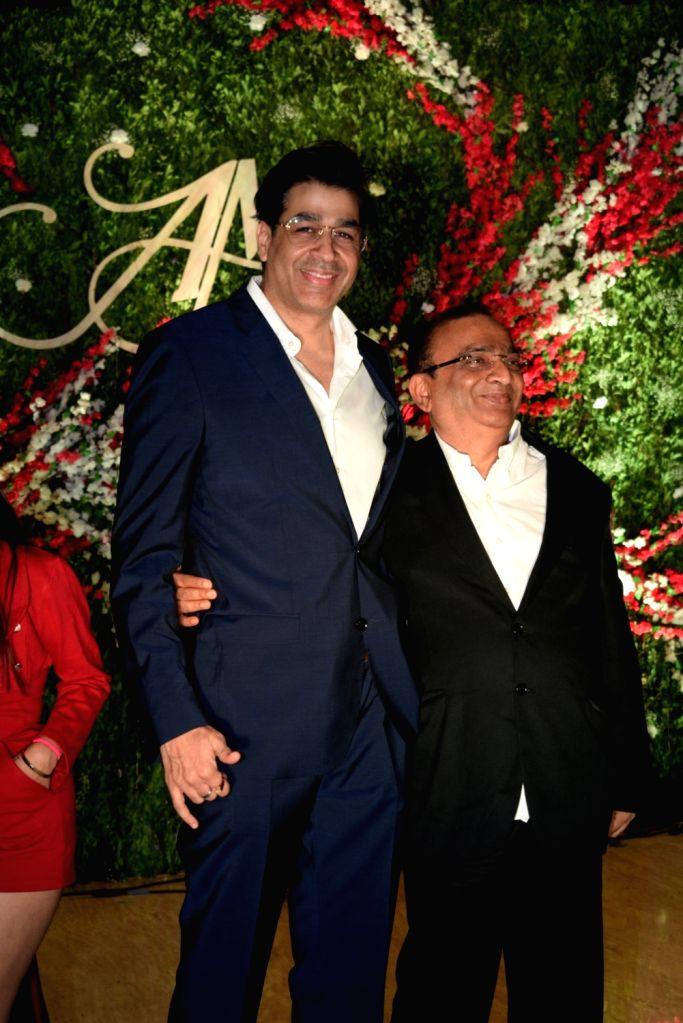Actor Rajat Bedi at the wedding reception of producer Jayantilal Gada's son Aksshay Gada in Mumbai, on March 31, 2019. - Rajat Bedi