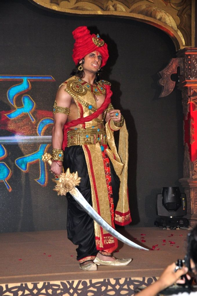 Actor Rajat Tokas during the press conference of Star Plus channel upcoming television series, Chandra Nandini, in Mumbai, on Sept 21, 2016. - Rajat Tokas