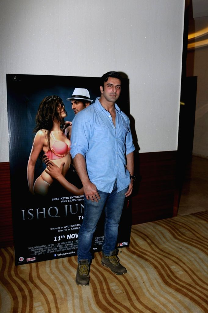 Actor Rajbir Singh during the song launch of film Ishq Junoon, in Mumbai, on Oct 26, 2016. - Rajbir Singh