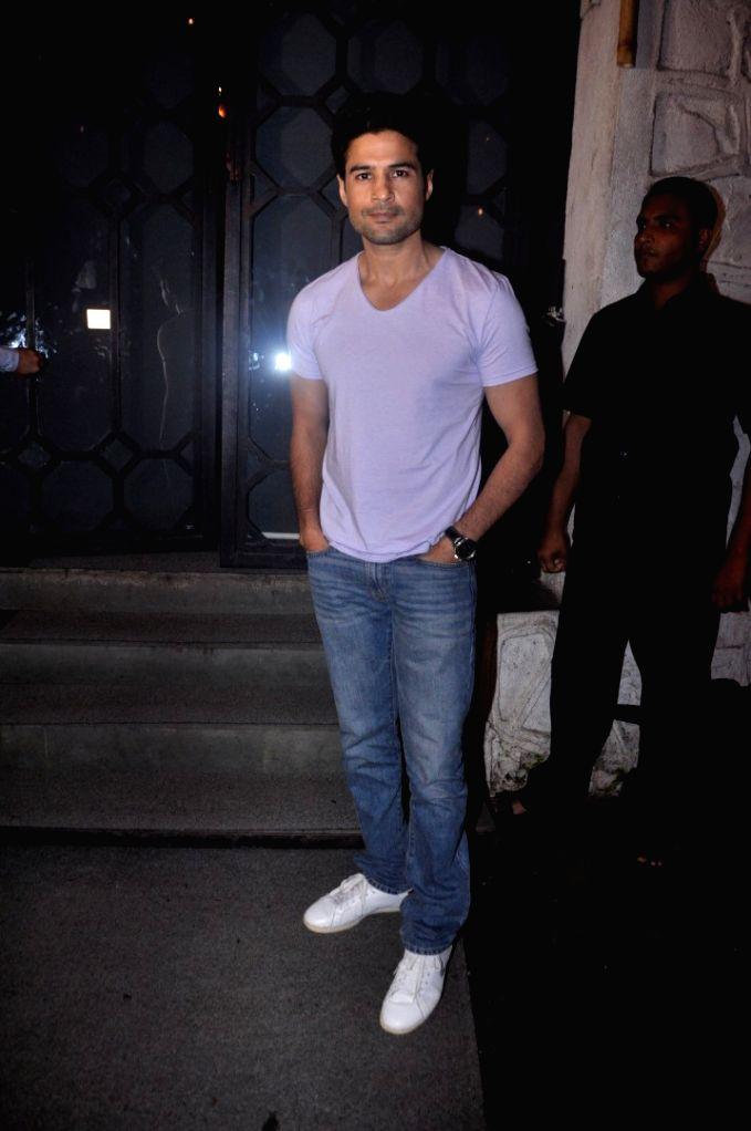 Actor Rajeev Khandelwal during the film Fever party in Mumbai on July 26, 2016. - Rajeev Khandelwal