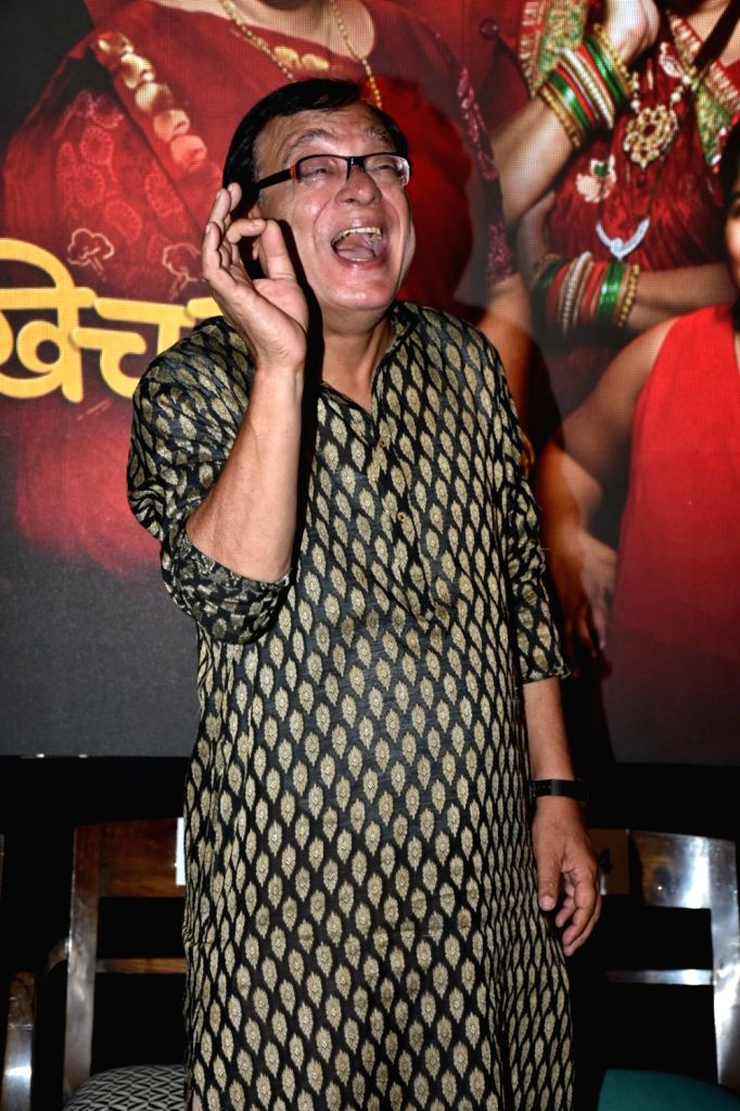 "Actor Rajeev Mehta during a press conference to promote his upcoming television show ""Khichdi"" in Mumbai on April 3, 2018. - Rajeev Mehta"