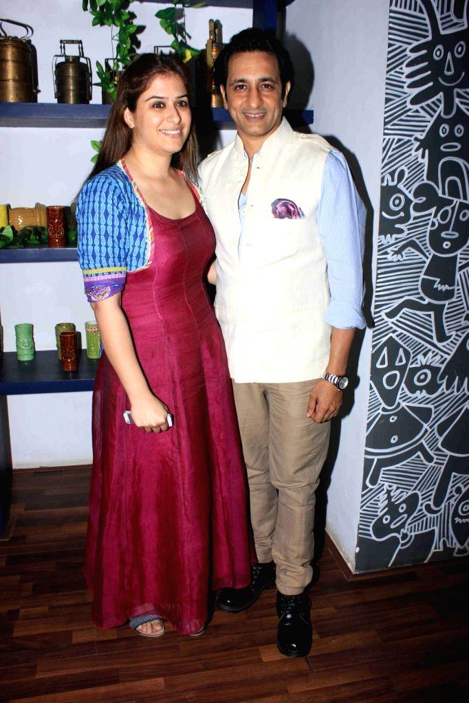 Actor Rajeev Paul during the launch of Claudia Ciesla's book on nutrition 'Keep Eating Keep Losing' in Mumbai on June 1, 2016. - Rajeev Paul