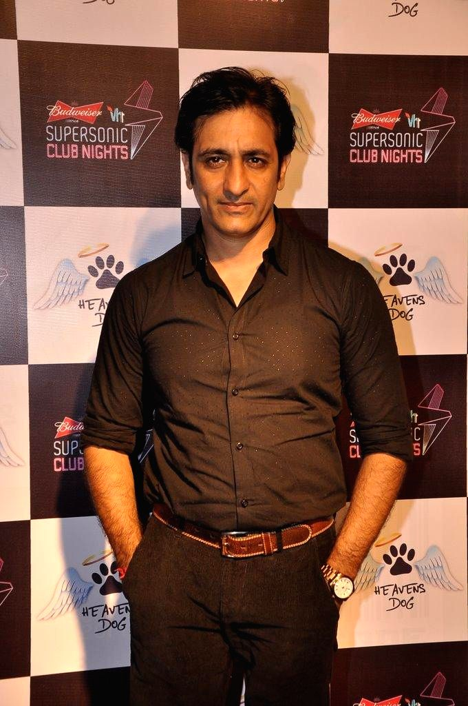 Actor Rajeev Paul during the launch of restaurant Heavens Dog, in Mumbai, on Sept. 5, 2014. - Rajeev Paul