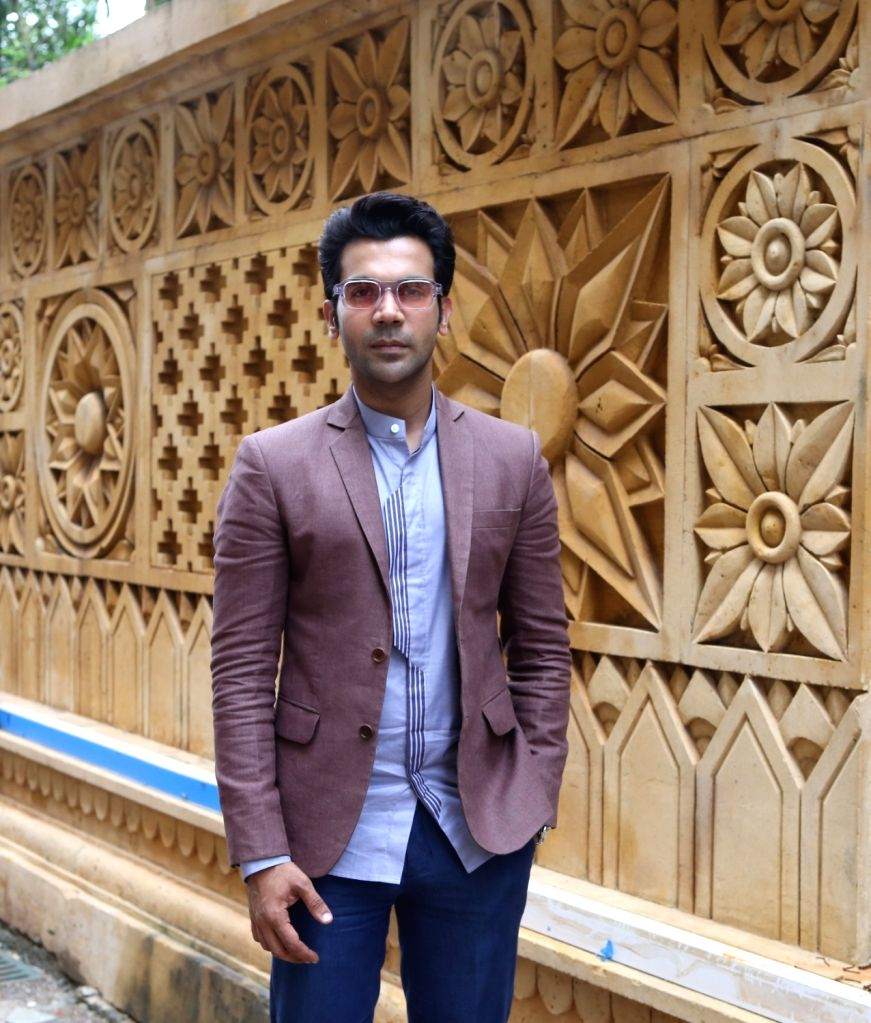 """Actor Rajkummar Rao during a media interaction to promote his upcoming film """"Fanney Khan"""" in Mumbai on July 30, 2018. - Rajkummar Rao and Fanney Khan"""