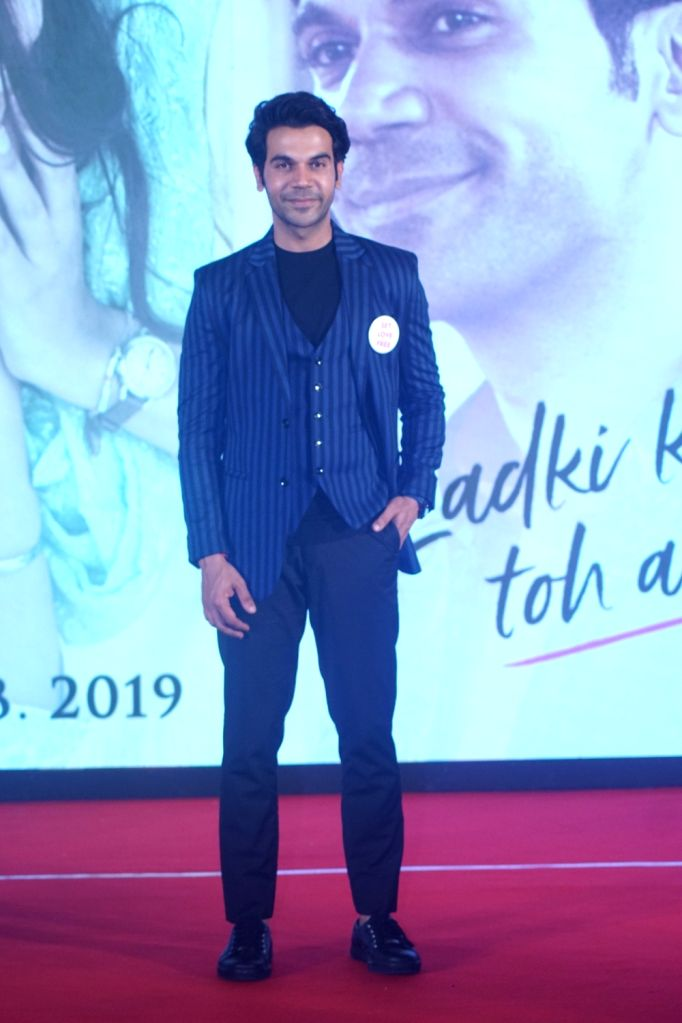 "Actor Rajkummar Rao during a press conference to promote his upcoming film ""Ek Ladki Ko Dekha Toh Aisa Laga"" in Mumbai, on Jan 28, 2019. - Rajkummar Rao"