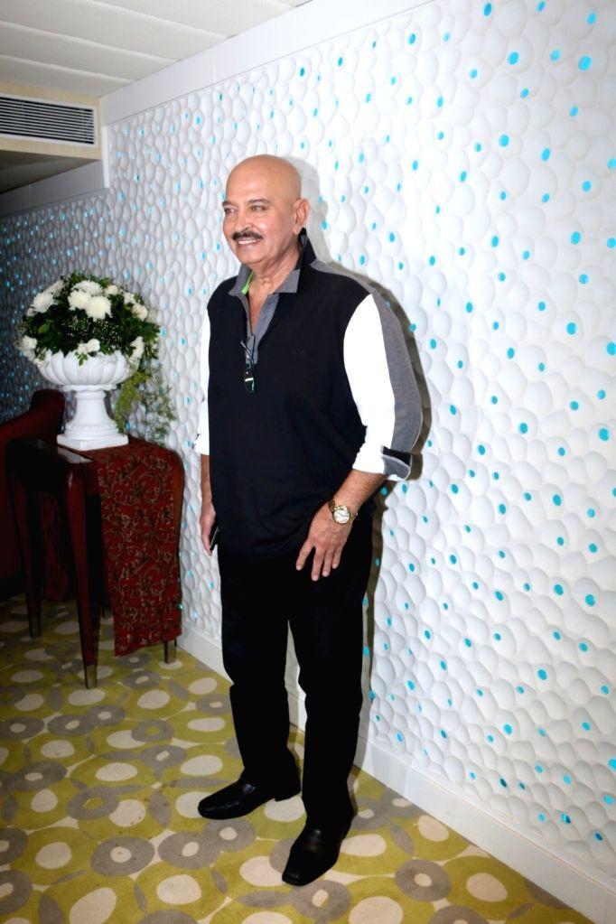 Actor Rakesh Roshan during the launch of preview theatre Cinetheque in Mumbai on Nov 29, 2016. - Rakesh Roshan