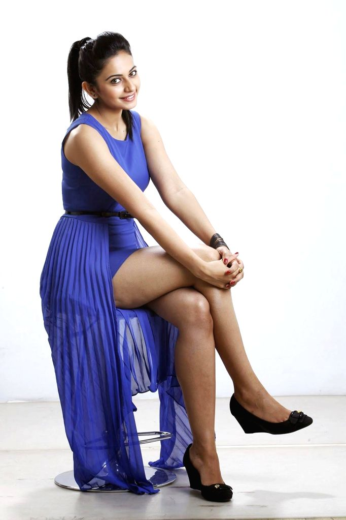 Actor Rakul Preet during the photo shoot in Mumbai on May 15, 2014.
