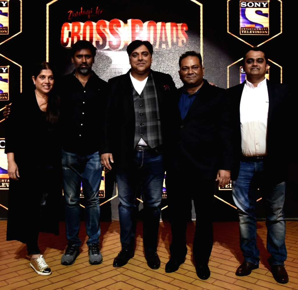 "Actor Ram Kapoor during a press conference regarding his upcoming show ""Zindagi Ke Crossroads"" in Mumbai on May 22, 2018. - Ram Kapoor"