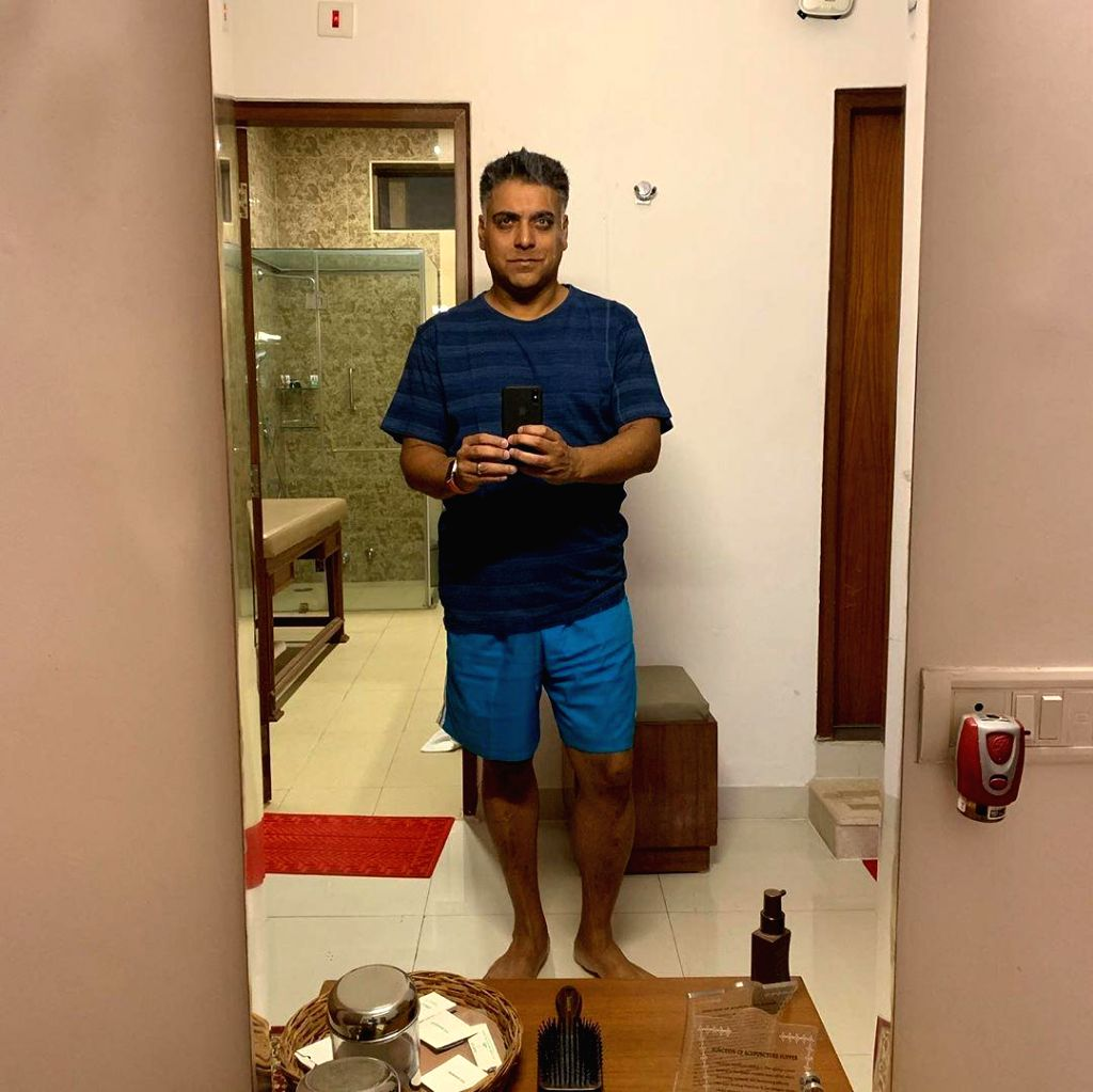 "Actor Ram Kapoor, who is known for his roles in television shows ""Kasam Se"" and �""Bade Achhe Lagte Hain"", has recently shared photographs of his major weight loss transformation, leaving netizens stunned. - Ram Kapoor"