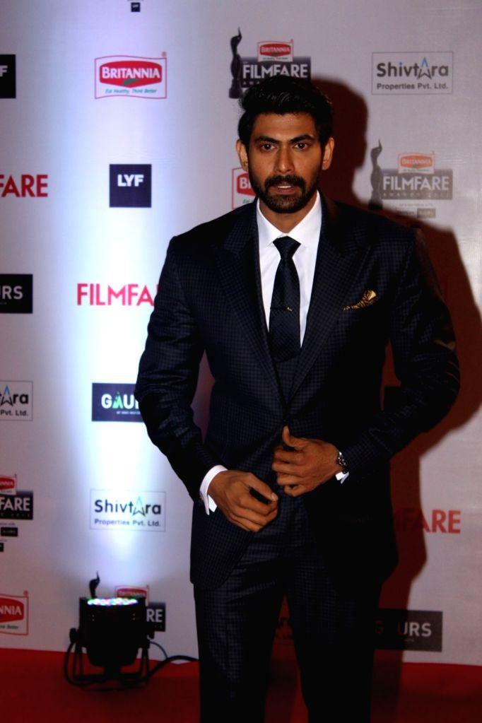 Actor Rana Daggubati during the 61st Britannia Filmfare Awards in Mumbai on January 15, 2016. - Rana Daggubati