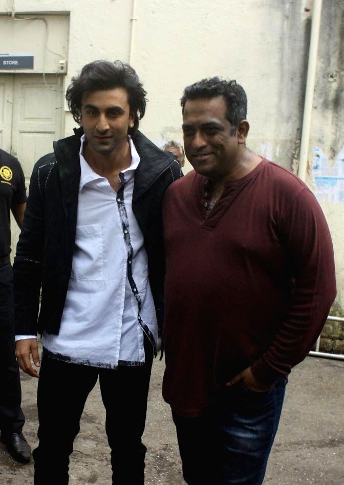 Actor Ranbir Kapoor and filmmaker Anurag Basu during the promotion of film Jagga Jasoos on the sets of on the sets of Star Plus TV show Nach Baliye Season 8 in Mumbai, on June 22, 2017. - Ranbir Kapoor and Anurag Basu