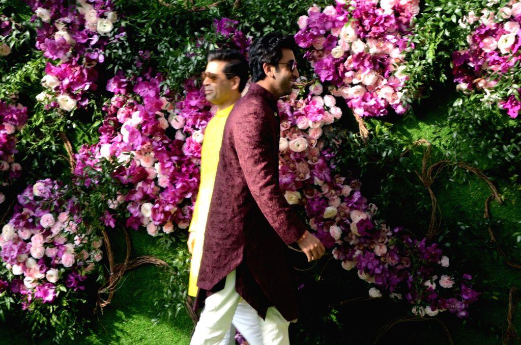 Akash, Shloka wedding festivities