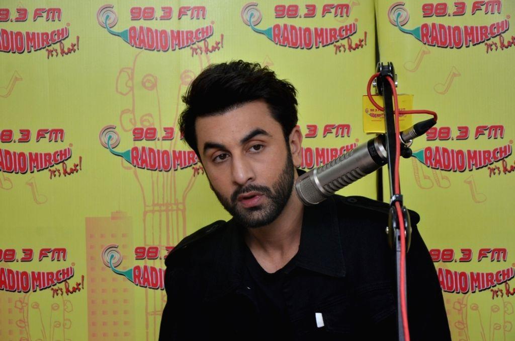 Actor Ranbir Kapoor at Radio Mirchi to promote Ae Dil Hai Mushkil in Mumbai on Oct 26, 2016. - Ranbir Kapoor