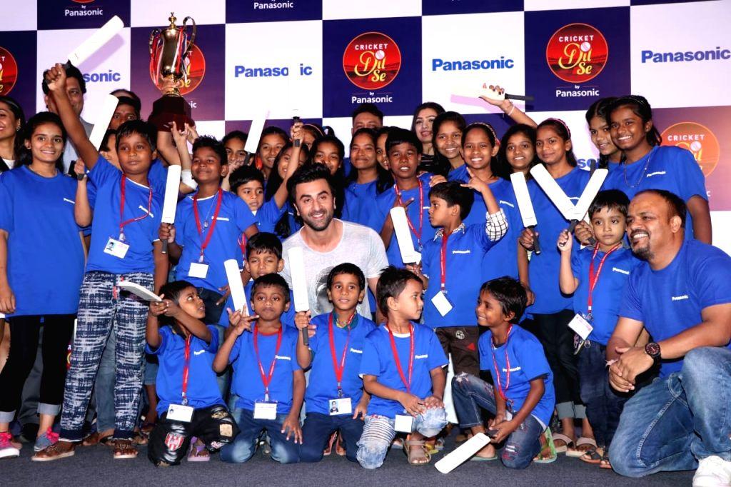Actor Ranbir Kapoor during a programme in Mumbai on May 11, 2019. - Ranbir Kapoor