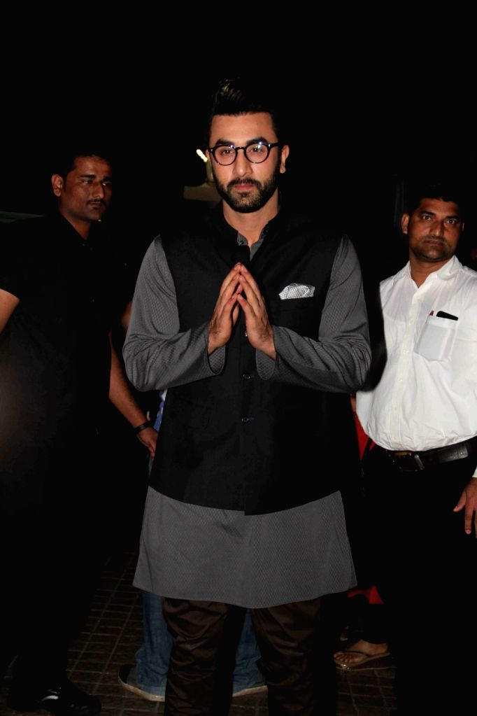 Actor Ranbir Kapoor during the promotion of film Ae Dil Hai Mushkil in Mumbai on Oct 29, 2016. - Ranbir Kapoor