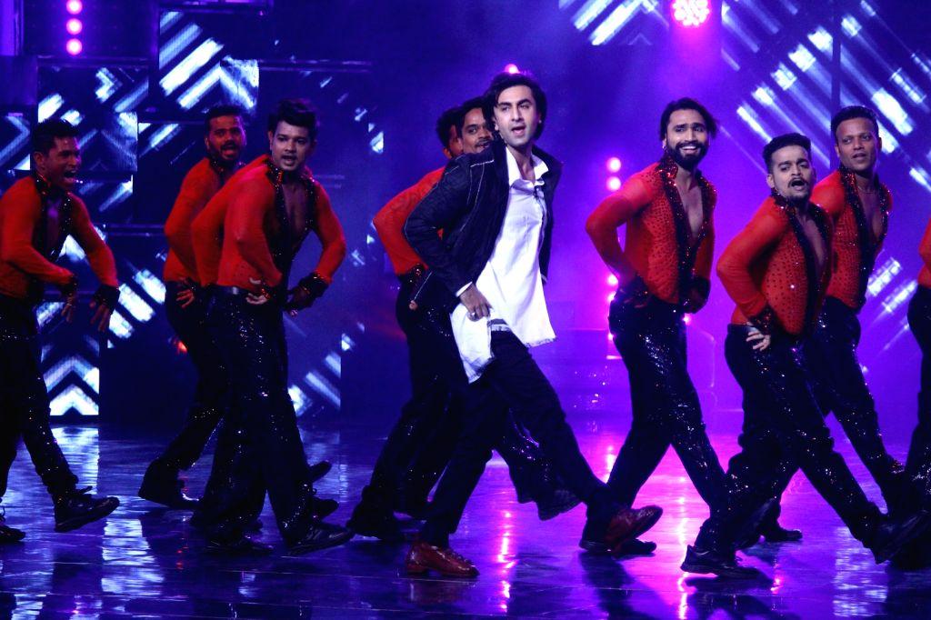 Actor Ranbir Kapoor during the promotion of film Jagga Jasoos on the sets of on the sets of Star Plus TV show Nach Baliye Season 8 in Mumbai, on June 22, 2017. - Ranbir Kapoor