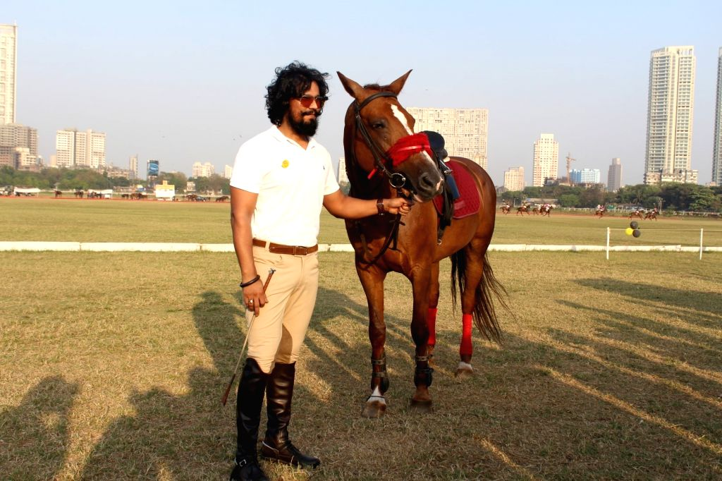 Actor Randeep Hooda before participating in the horse jumping competition at Amateur Riders' Club,  Polo Ground, Mahalaxmi Race course in Mumbai,  March 24, 2017. - Randeep Hooda