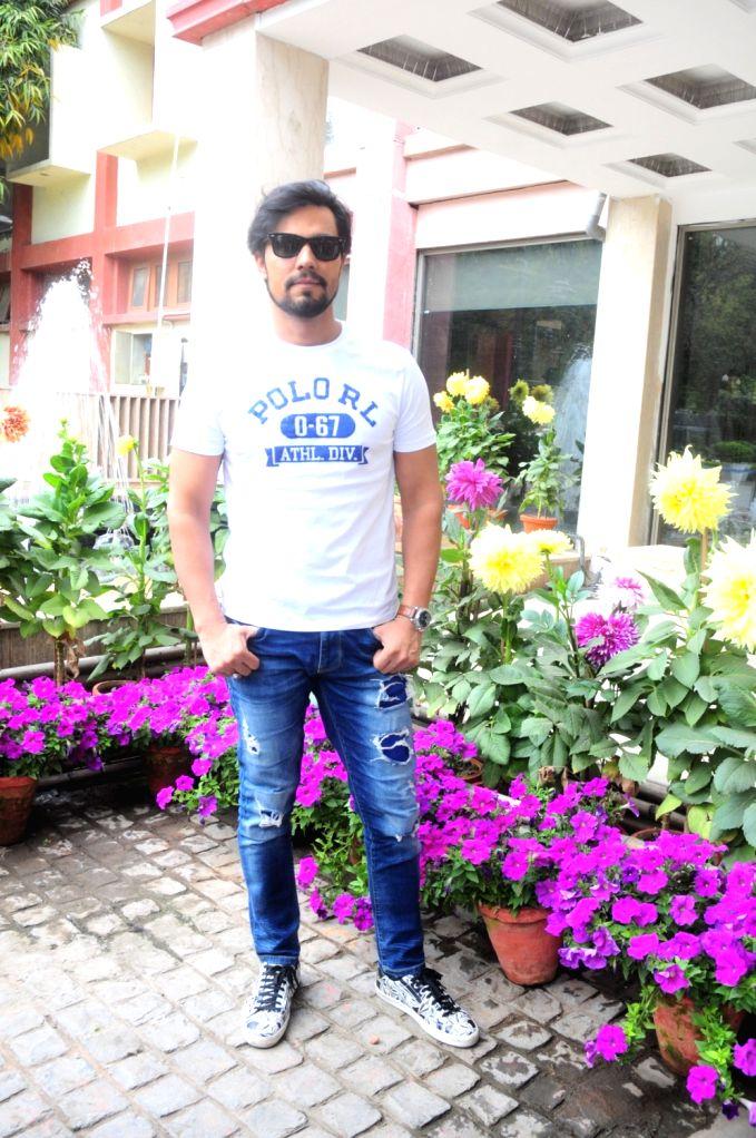 Actor Randeep Hooda during a product launch programme in New Delhi, on March 30, 2019. - Randeep Hooda