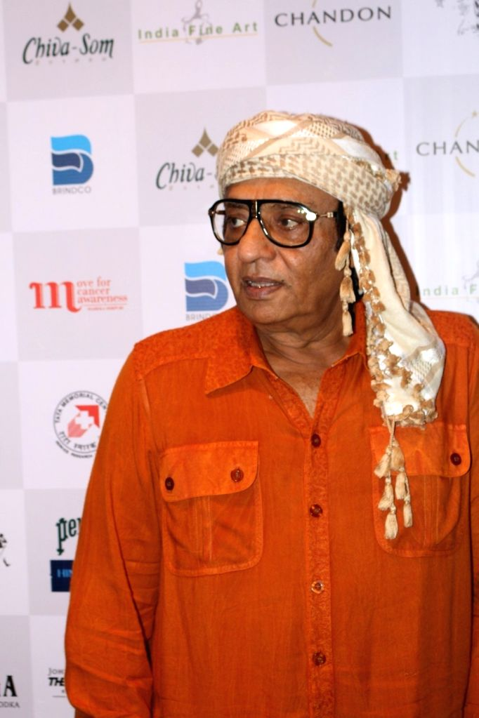 Actor Ranjeet during the MCan Foundation 4th annual charity gala and fundraiser `Cansurvive` to raise funds for underprivileged cancer patients at the Tata Memorial Hospital in Mumbai, on Oct ... - Ranjeet
